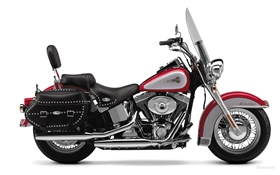 Harley-Davidson Heritage Softail motorcycle HD wallpaper