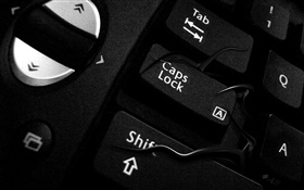 Keyboards close-up HD wallpaper