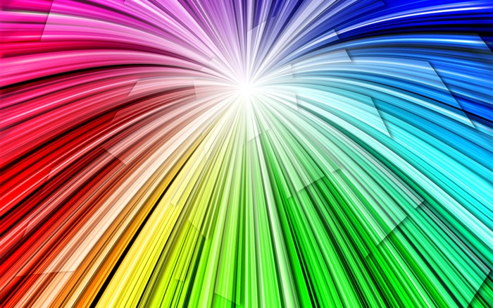 Light lines rainbow, abstract background Wallpapers Pictures Photos Images