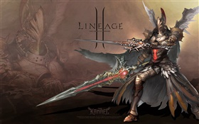 Lineage 2, armor warrior HD wallpaper