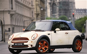 MINI Cooper white car