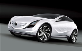 Mazda concept car HD wallpaper