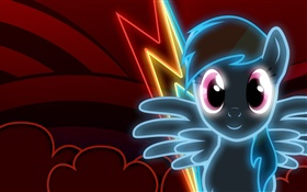 Neon Dash, game HD wallpaper