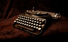 Old typewriter HD wallpaper