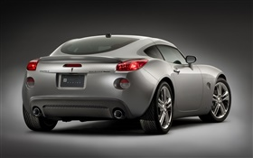 Pontiac silver car rear view HD wallpaper