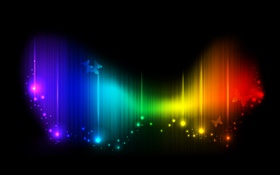 Rainbow background, colors, abstract pictures HD wallpaper