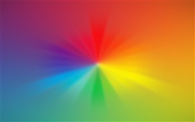 Rainbow colors, abstract pictures HD wallpaper