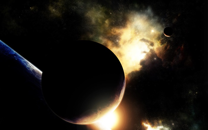 Space, planets, stars, beautiful Wallpapers Pictures Photos Images