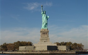 Statue of Liberty, USA tourist attractions HD wallpaper