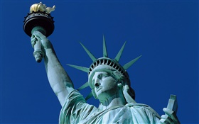 Statue of Liberty close-up HD wallpaper