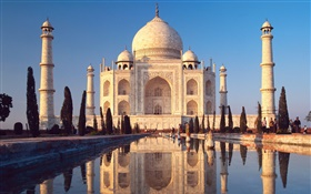 Taj Mahal, India HD wallpaper