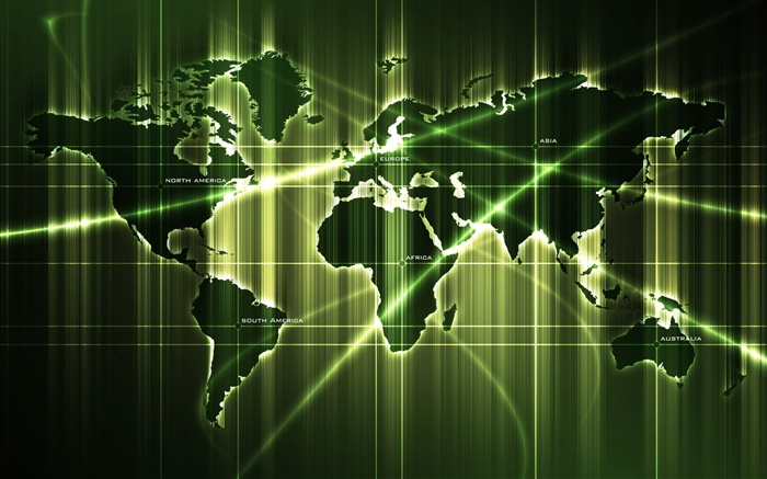 World maps, green style, creative pictures Wallpapers Pictures Photos Images