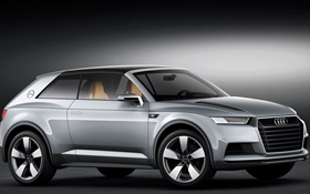 Audi Allroad Shooting Brake Concept car HD wallpaper