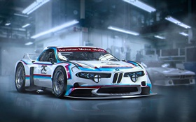 BMW 3.0 CSL future supercar HD wallpaper