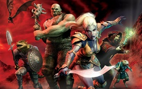 EverQuest, Xbox game HD wallpaper