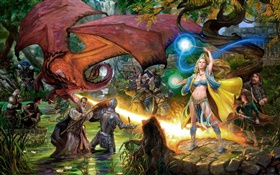 EverQuest, game art pictures HD wallpaper