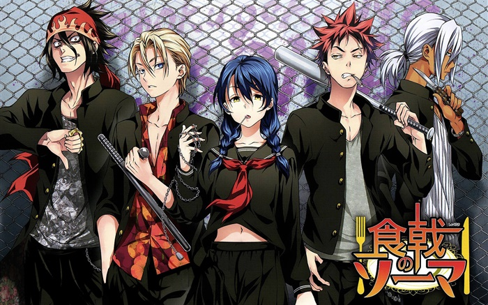 Food wars, Japanese anime Wallpapers Pictures Photos Images