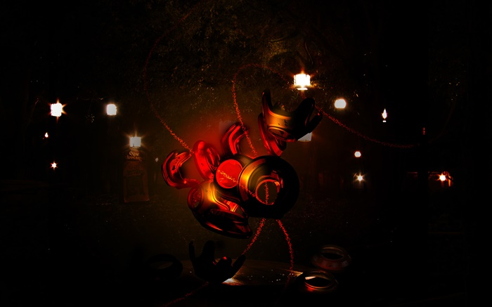 Gas mask, 3D creative design Wallpapers Pictures Photos Images