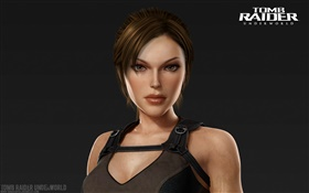 Lara Croft, portrait, Tomb Raider: Underworld HD wallpaper