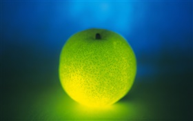 Light fruit, green orange HD wallpaper