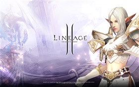 Lineage 2, beautiful elf girl