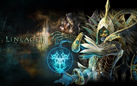 Lineage 2, magic warrior HD wallpaper