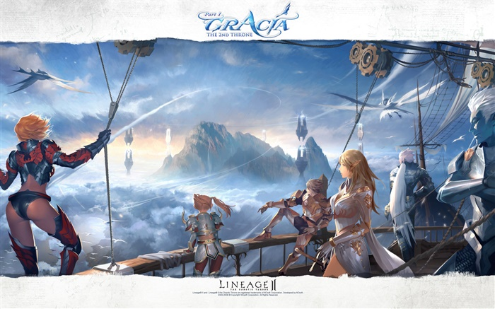 Lineage 2, online game Wallpapers Pictures Photos Images
