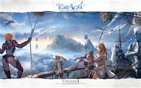 Lineage 2, online game HD wallpaper