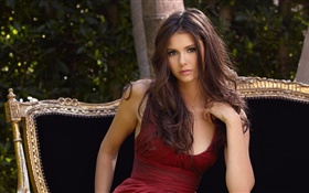 Nina Dobrev, The Vampire Diaries HD wallpaper