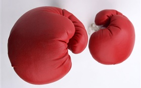 Red boxing gloves HD wallpaper