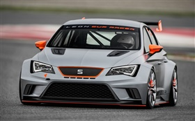 Seat grey race car HD wallpaper