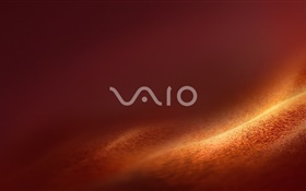 Sony Vaio logo, desert background HD wallpaper