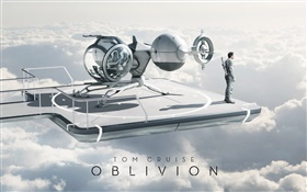 Tom Cruise in Oblivion movie HD wallpaper