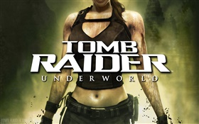 Tomb Raider: Underworld, Xbox game HD wallpaper