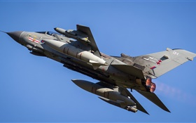 Tornado ZA607 aircraft, fighter HD wallpaper