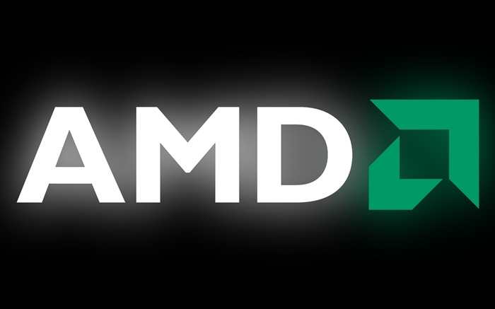 AMD logo, black background Wallpapers Pictures Photos Images