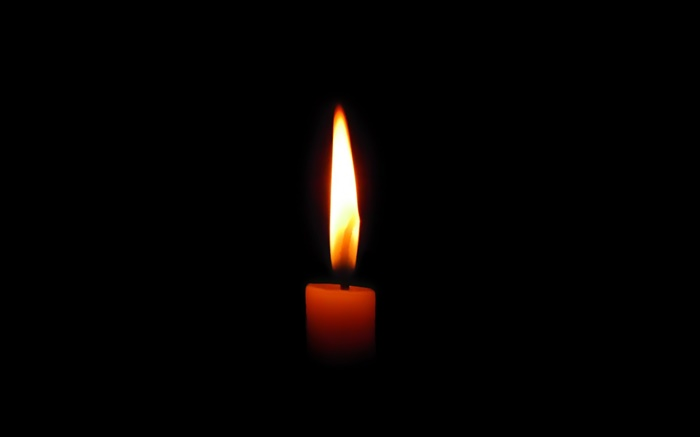 Candle in the dark, fire, flame Wallpapers Pictures Photos Images