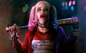 Harley Quinn, Suicide Squad HD wallpaper