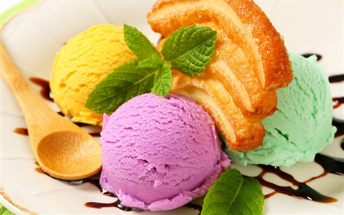 Ice cream, baking, dessert, pastries Wallpapers Pictures Photos Images