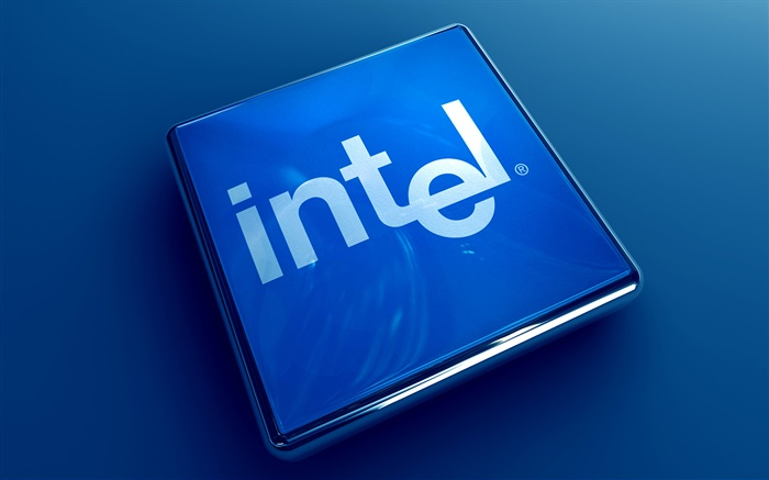 Intel 3D logo Wallpapers Pictures Photos Images