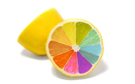 Lemon colorful colors HD wallpaper