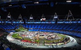 London 2012 Olympics opening ceremony HD wallpaper