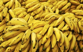 Many yellow bananas HD wallpaper