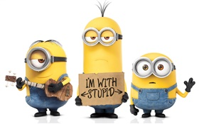 Minions cartoon movie HD wallpaper