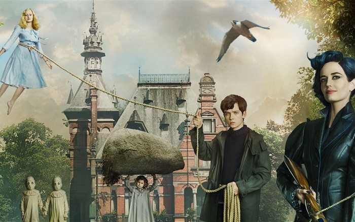 Miss Peregrine's Home for Peculiar Children Wallpapers Pictures Photos Images