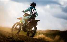 Motorbike sports HD wallpaper