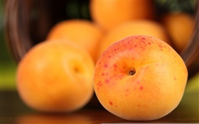 Peach, fruit photography HD wallpaper