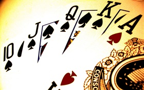 Poker cards HD wallpaper