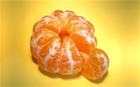 Sweet mandarin, fruit close-up HD wallpaper