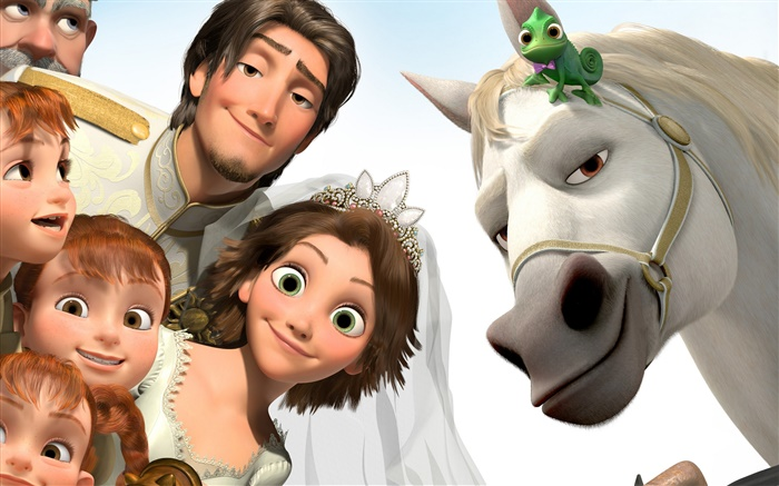 Tangled, Disney cartoon movie Wallpapers Pictures Photos Images